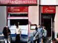 Präsentation von Olivenöl, Kaffee und selbstgemachten Eis in der Gelateria Zucchero, Familie Contini, Mariazell