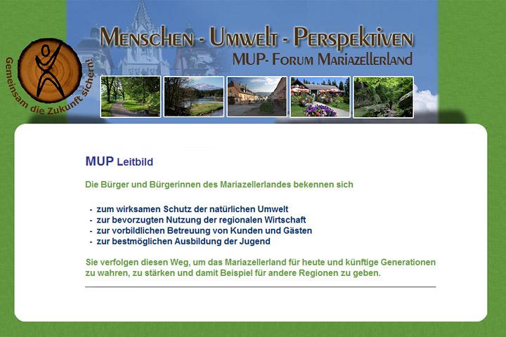 MUP Homepage