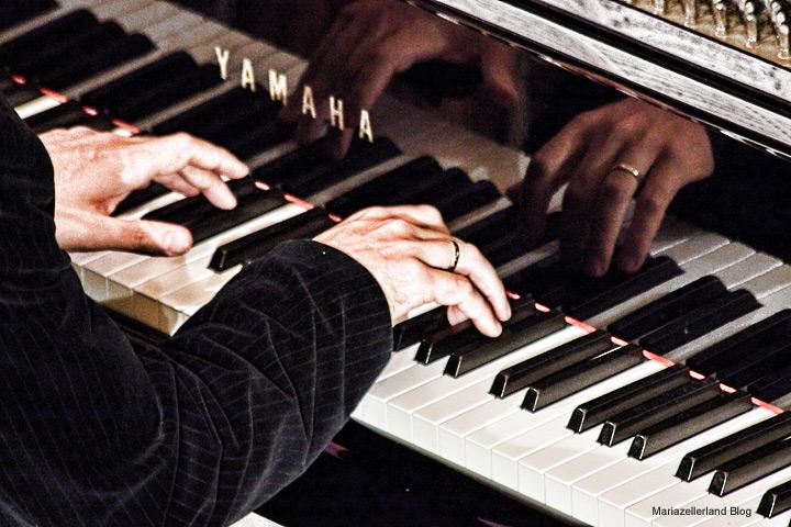 Pianist der Opernarien bei der Bergwelle