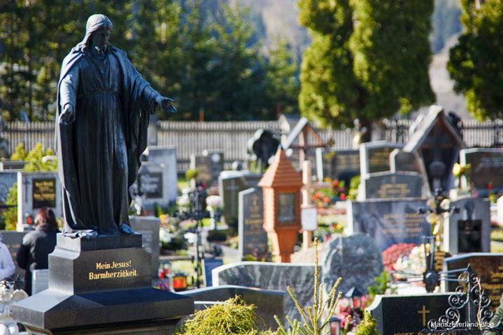 Friedhof in Mariazell zu Allerheiligen