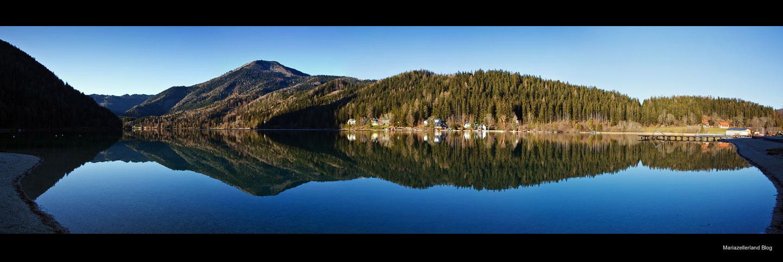 Erlaufsee Panorama 25. November 2009