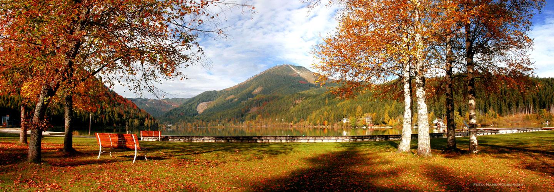 Erlaufsee-Herbstpanorama