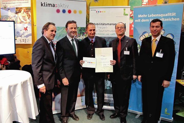 klima:aktiv Auszeichnung für das Mariazellerland