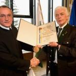 Pater Superior Karl Schauer Ehrenbürger von Mariazell
