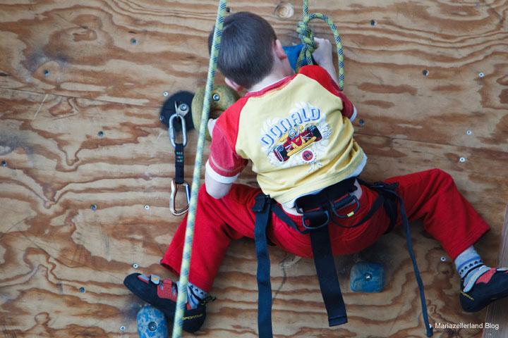 Kletterkus für Kinder & Jugendliche der Naturfreunde Mariazell