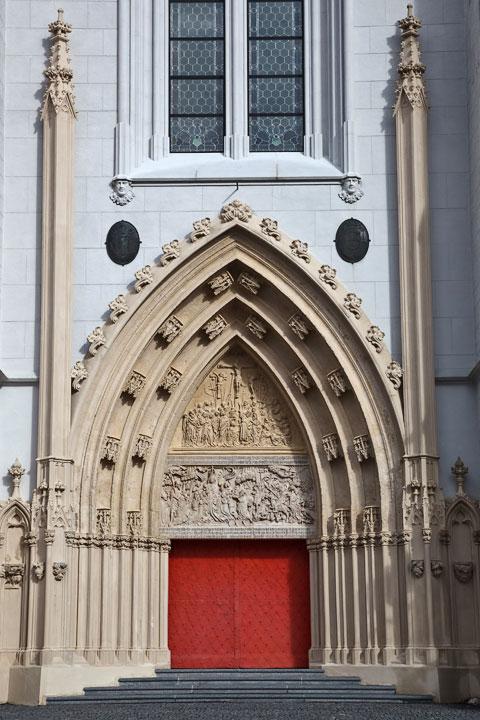 Basilika Haupteingangstür