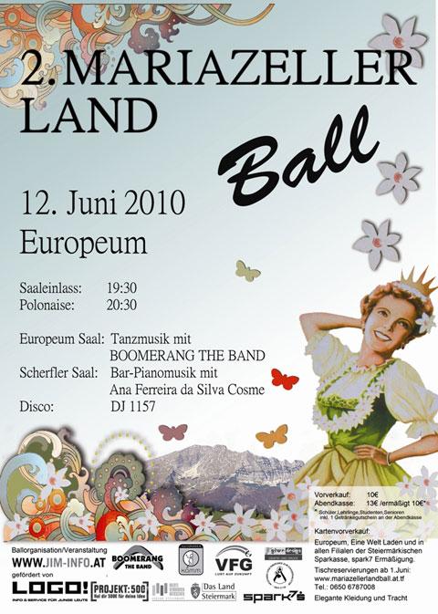 2. Mariazellerland Ball im Europeum