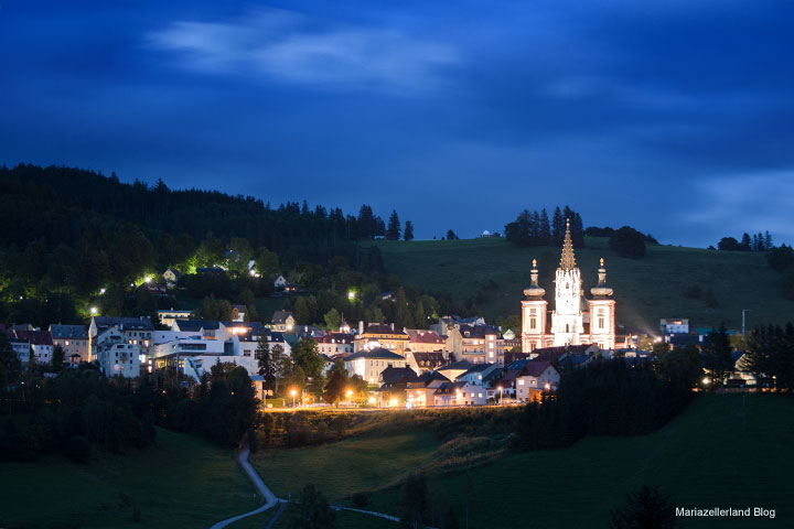 Mariazell-bei-Nacht