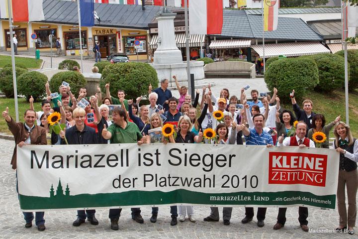 Platzwahl Sieger 2010 - Mariazell