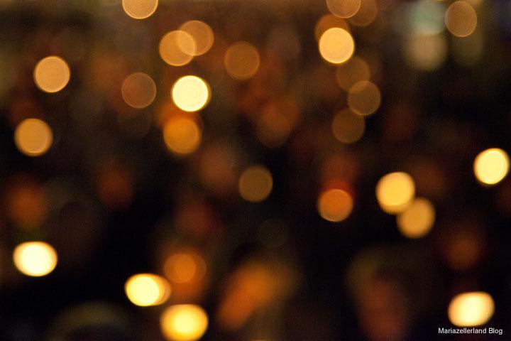 Gesichter und Lichter - Lichterprozession in Mariazell