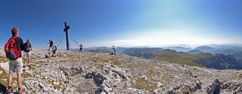 Hochschwab Gipfel 2277m