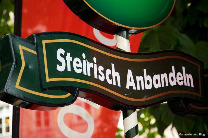 Steirisch Anbandeln in Linz 2010