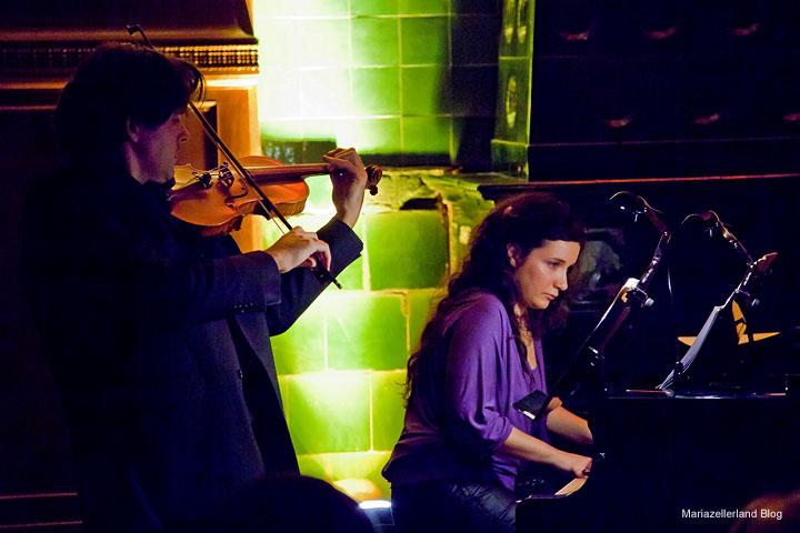 Duo Vienalis Konzert im Raiffeisensaal Mariazell