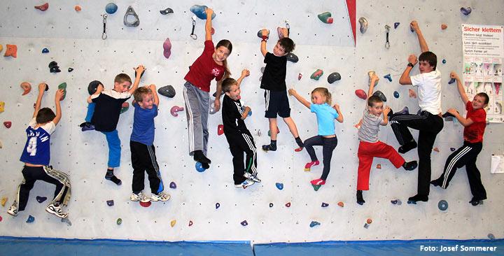 Naturfreunde Mariazell Kletterkurs für Kinder