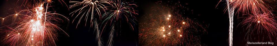 Feuerwerk Panorama