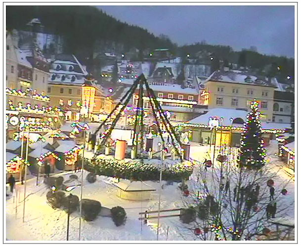 Webcam - Mariazell Hauptplatz