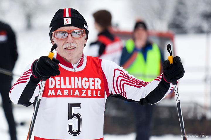Biathlon in Aschbach 2011 - Obmann ASKÖ Aschbach Günter Leodolter