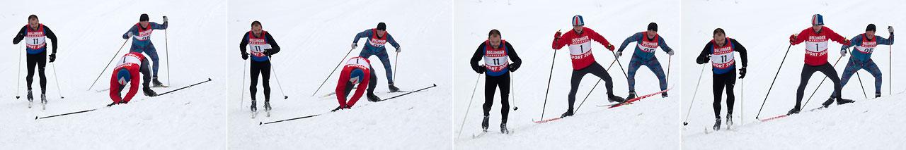 Biathlon in Aschbach - Positionskämpfe