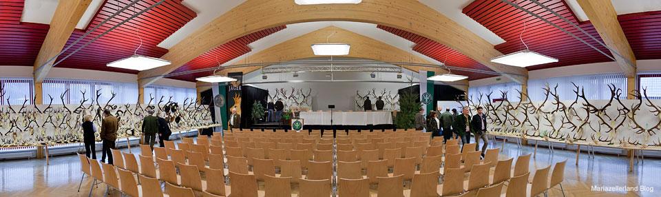Trophäenschau im Volksheim Gußwerk