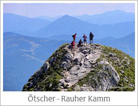 Ötscher Tour über den Rauhen Kamm