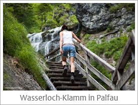 Wasserloch - Klamm in Palfau