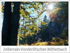 Zellerrain-Vorderoetscher-Oetschergraeben-Mitterbach