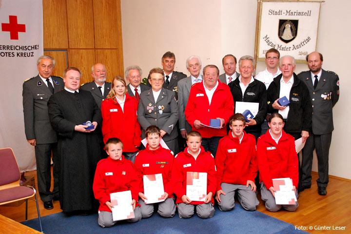 Bezirksversammlung Rotes Kreuz in Mariazell