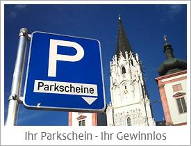 Parkschein als Gewinnlos in Mariazell