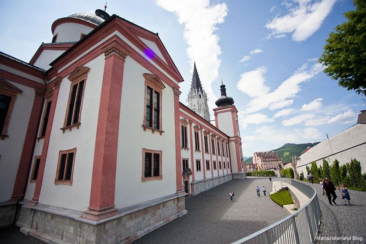 Basilika Mariazell Rückansicht