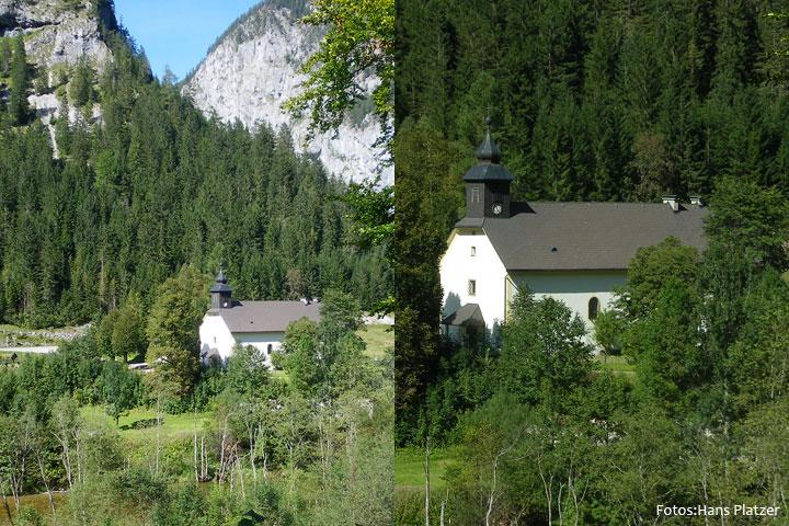 Kirche in Weichselboden. Fotos von Hans Platzer