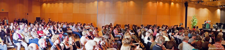 Publikum im Europeumssaal