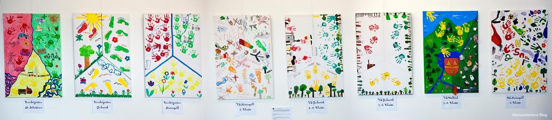 Projektarbeit der Kindergärten und Schulen des Mariazellerlandes