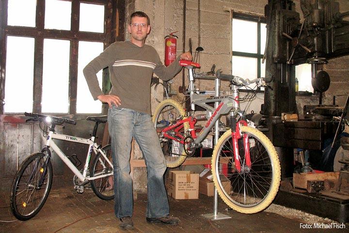 Fahrrad Service Station - Michael Fisch