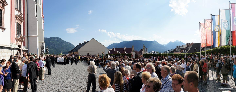 Otto von Habsburg Trauerfeier in Mariazell