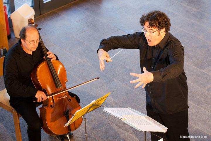 Salonorchester Bad Schallerbach unter Peter Gillmayr bei der Bergwelle 2011