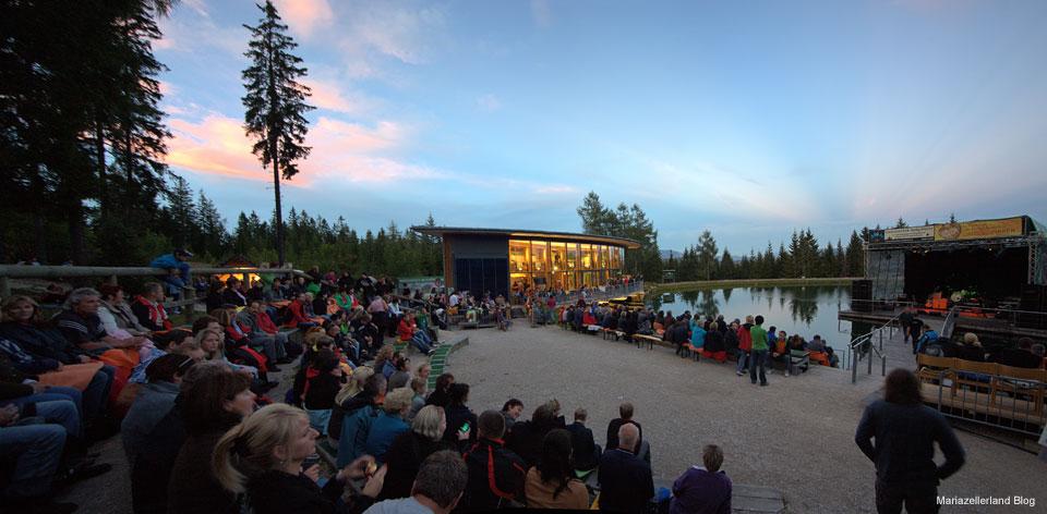 Publikum Peter Cornelius Panorama bei der Bergwelle
