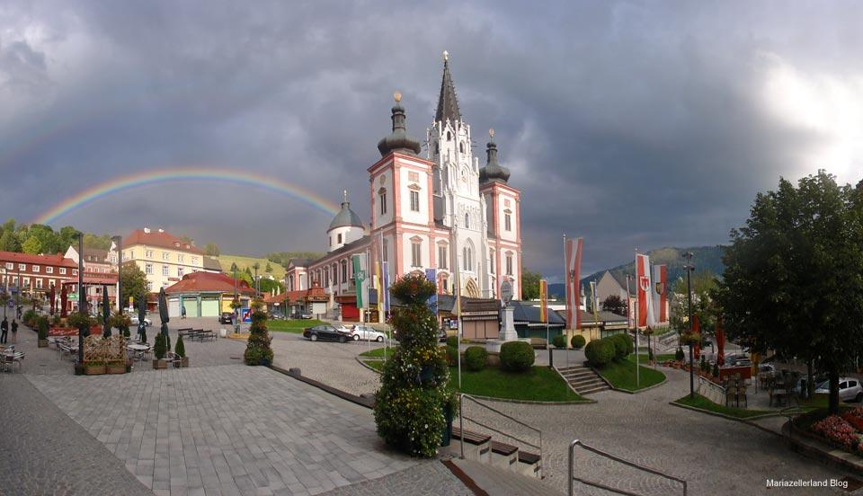 Regenbogen in Mariazell
