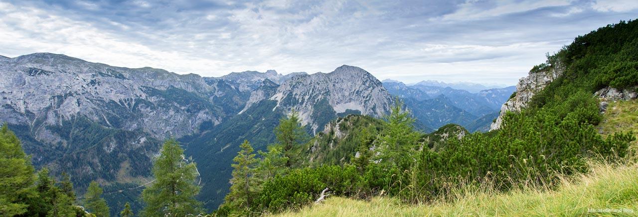 Hochschwab Riegerin Gesäuse Panorama