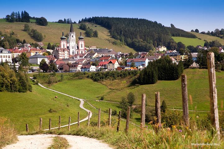 Mariazell von Feldbauer/Eder aus gesehen 0226