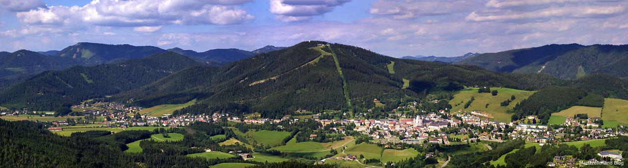 Mariazell von Tribein - Panorama0227-0232-6
