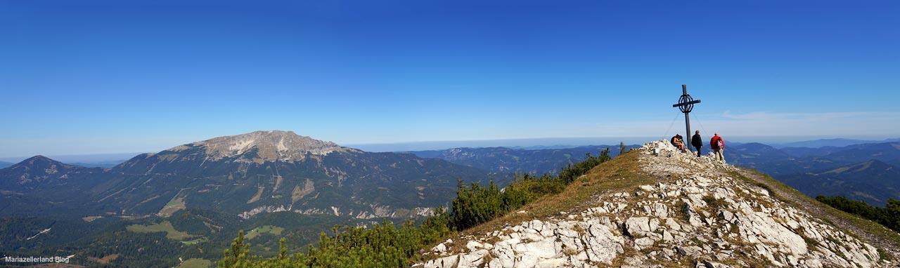 Links Ötscher - Gemeindealpe Gipfelkreuz