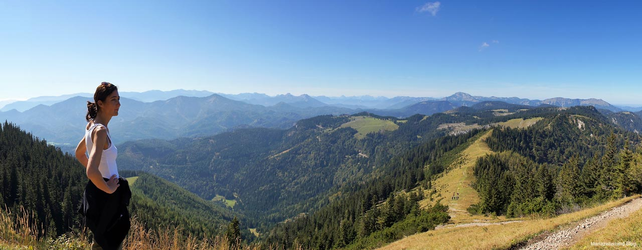 Panorama Weg Gemeindealpe-Zellerrain