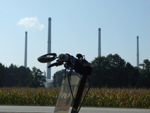 Türme Bayernoil Raffinerie