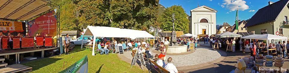 Dorfplatz in Gußwerk