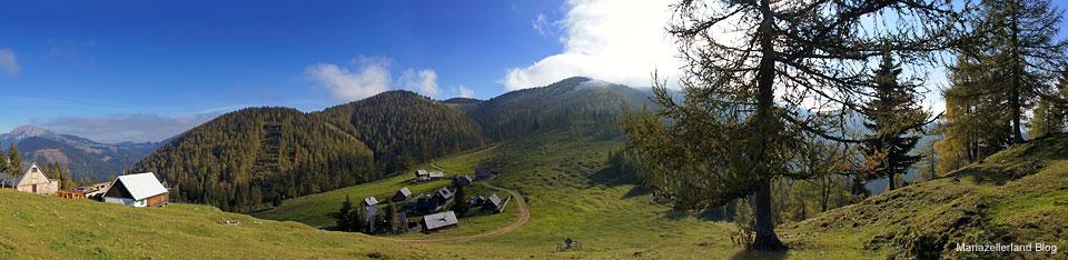 Göriacheralm - Hochanger Panorama
