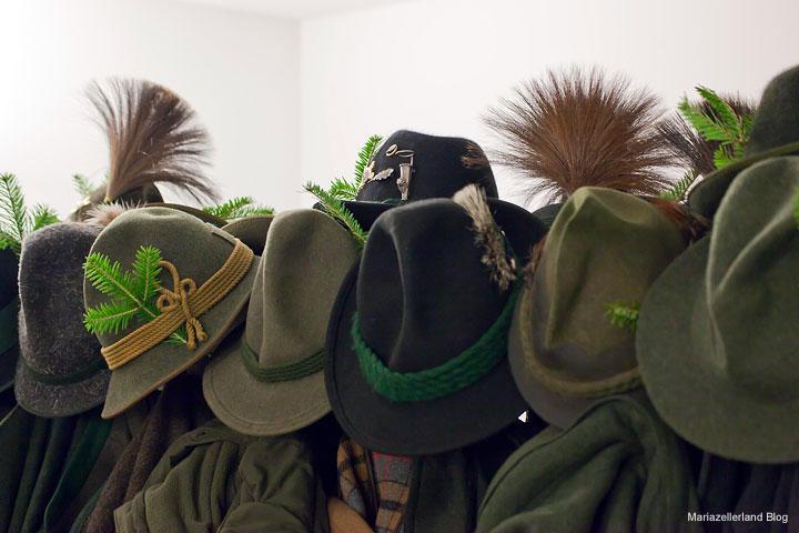 Hubertusfeier mit Jagdhornbläser in Gußwerk