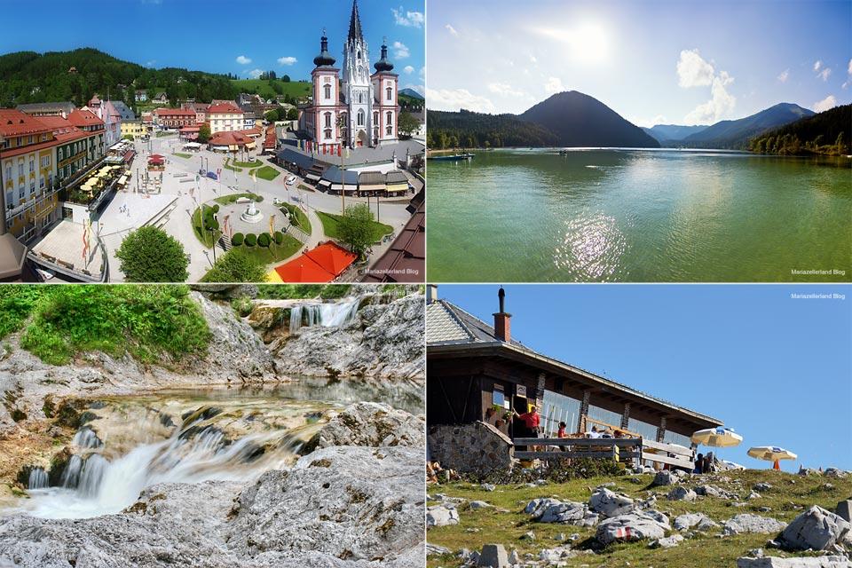 Mariazell, Erlaufsee, Ötschergräben und Terzerhaus - Ausgezeichnete Ausflugsziele im Mariazellerland