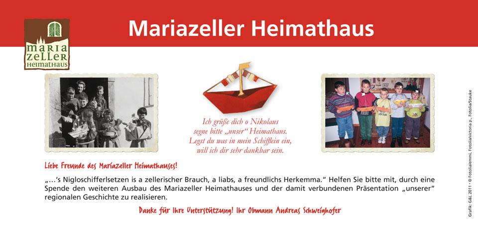 Schifferl setzten - Heimathaus Mariazell