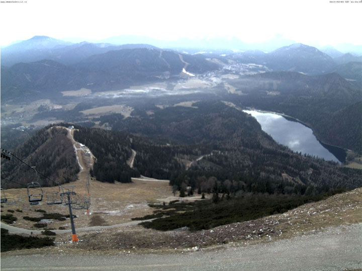 Webcam - Ausblick vom Gemeindealpe Gipfel ins Mariazellerland