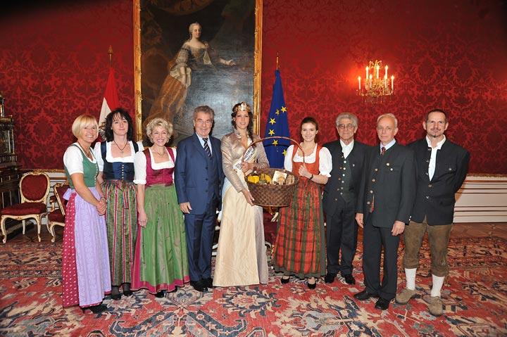 Tag des Honigs 2011 - Besuch beim Bundespräsidenten Heinz Fischer